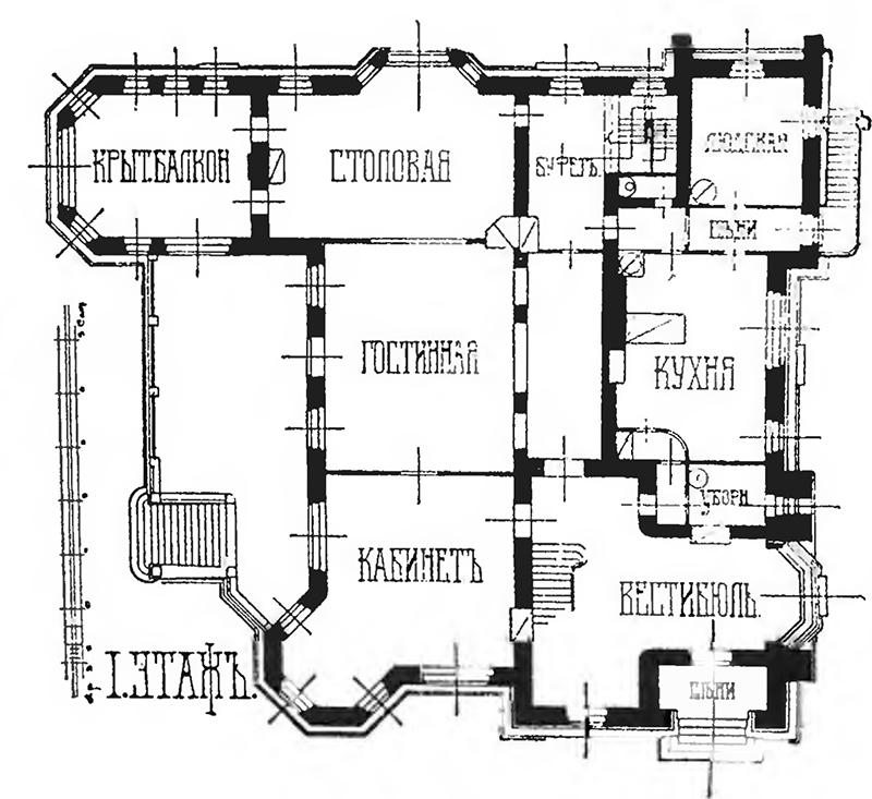 Авторский план 1 этажа