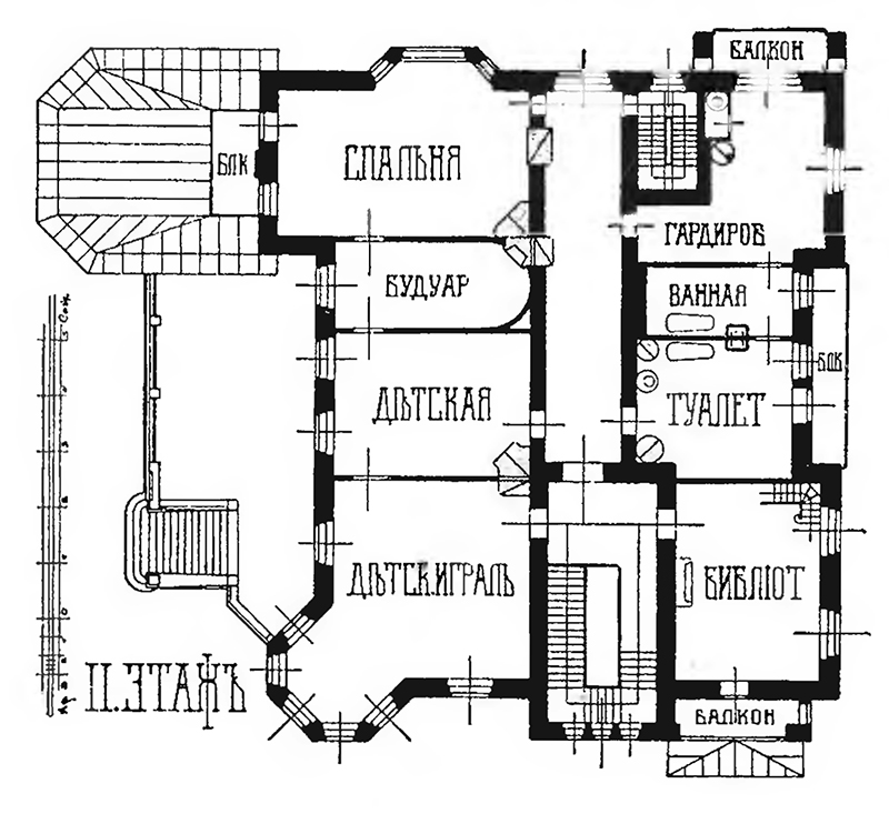 Авторский план 2 этажа