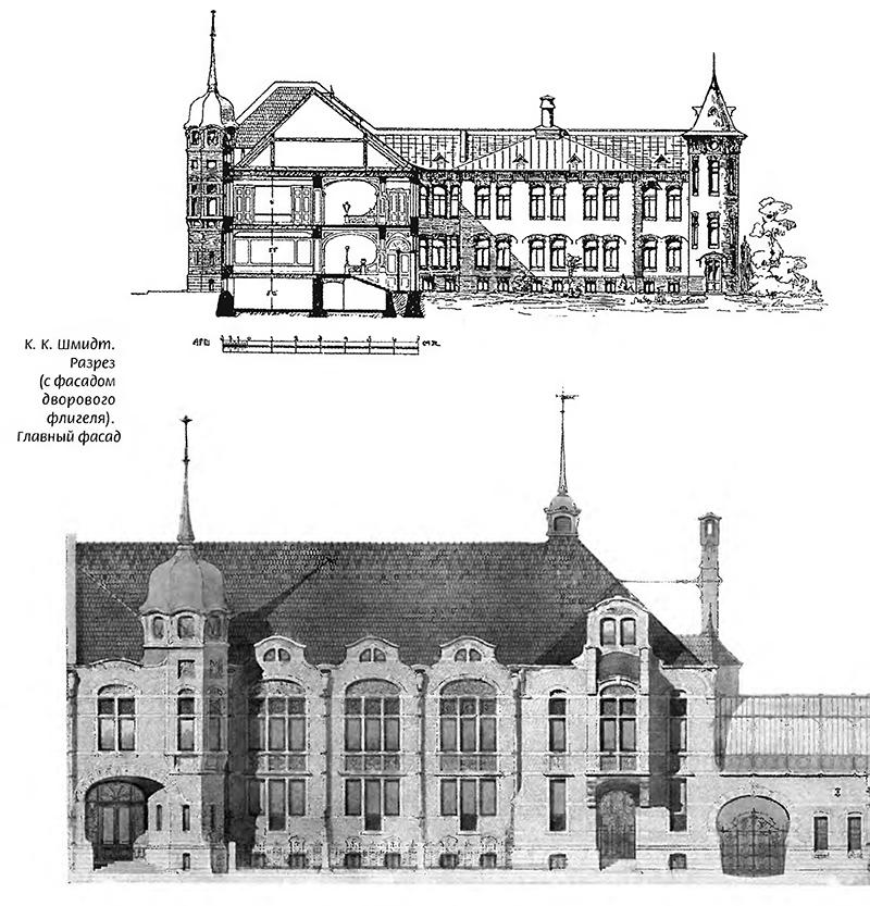 Фасад архитектора