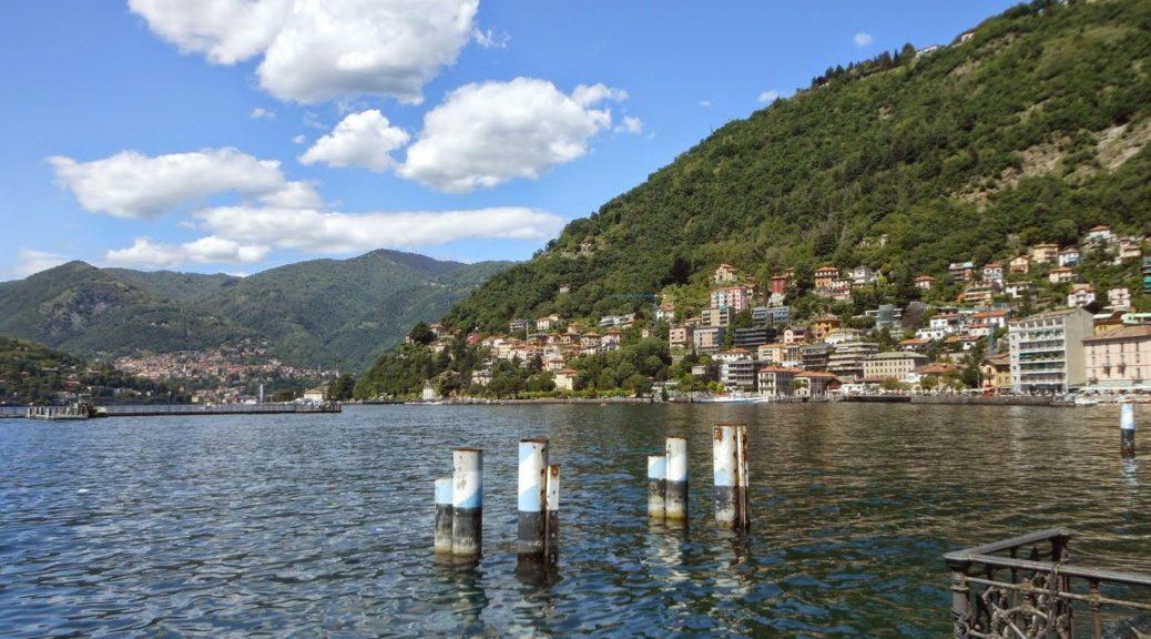Путешествие по Италии - Бергамо и озеро Комо