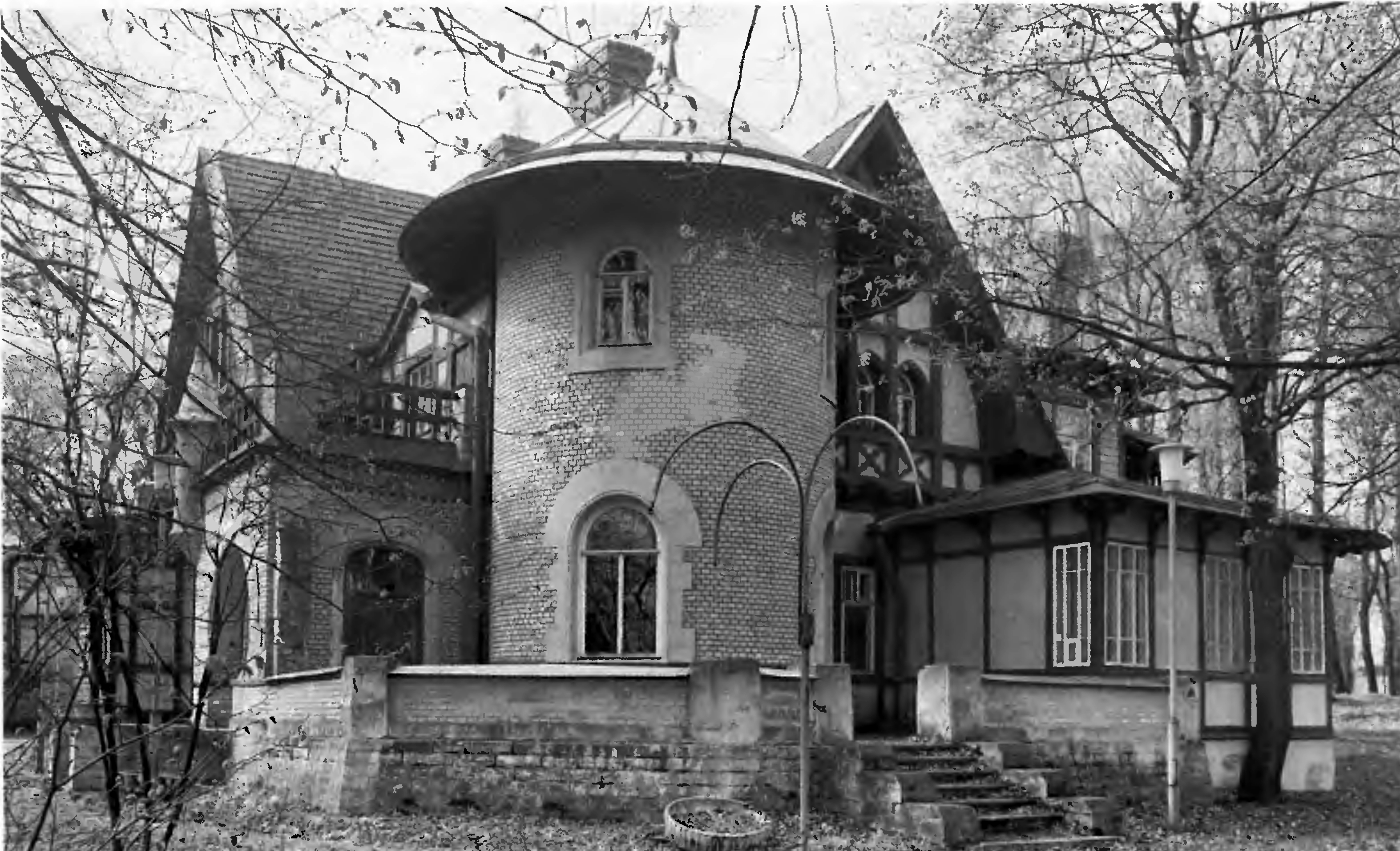 Дача Е. К. Гаусвальд стала начальным звеном нового ансамбля