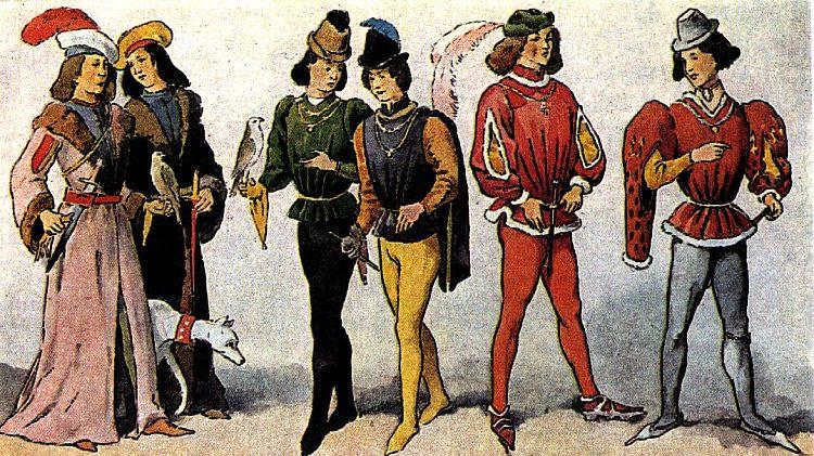 Культура сословий в средневековой западной Европе