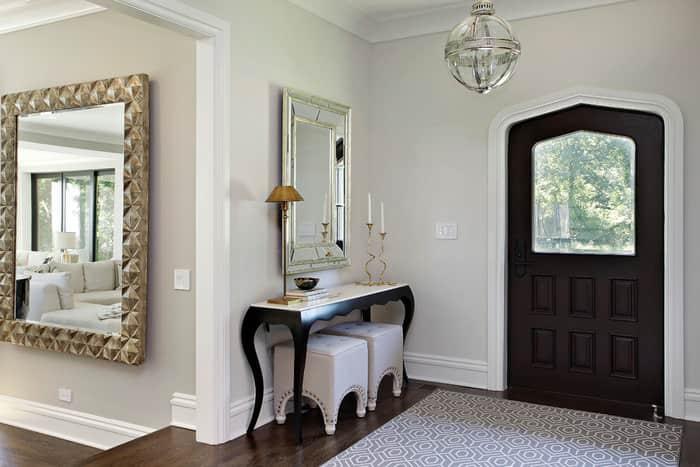 Использование зеркал в интерьере дома