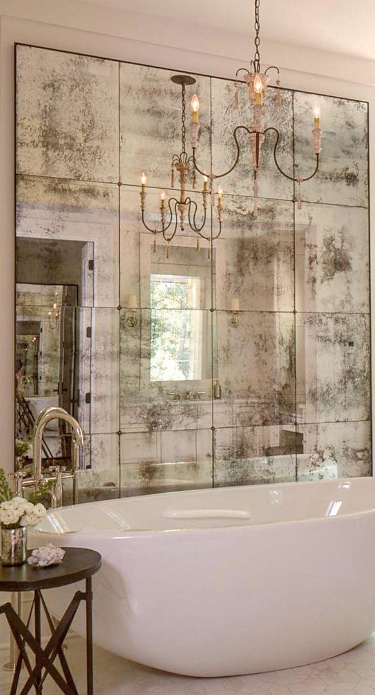Оригинальные решения для оформления зеркала в ванной