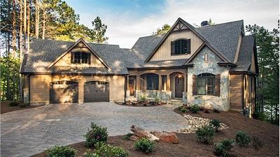 Для загородного дома выбираем стиль Craftsman: простоту, надёжность, оригинальный дизайн