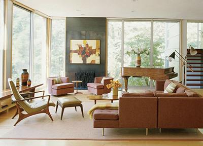 Стиль Mid Century Modern в послевоенном дизайне. Мой дом - моя крепость