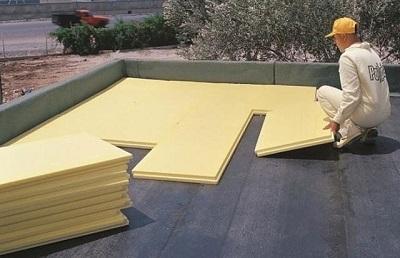 Теплоизоляция на плоской крыше. Крыша с вентиляцией и без