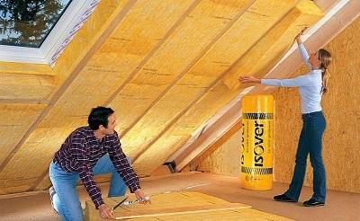 О чем следует помнить при утеплении крыши минеральной ватой?