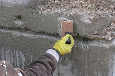 Обработка в бетонных конструкциях и применение гидроизоляции