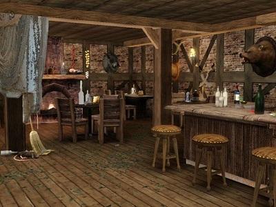 Как оформить бар в стиле вестерн-салун