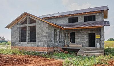 Дом из арболита. Использование арболита в строительстве